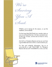 Poster Design for LIRR